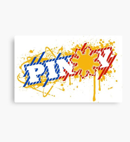 PINOY PRIDE Canvas Print