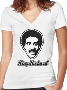 King of Comedy Women's Fitted V-Neck T-Shirt