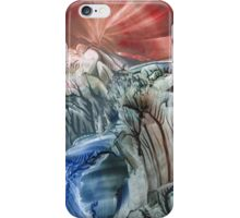 Morphing obscure horizons into shifting emotions iPhone Case/Skin