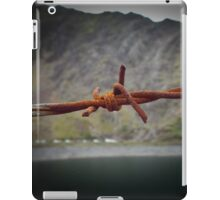 The Barb Wired Mountain Of No Return iPad Case/Skin
