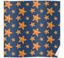 Cute starfish   Poster