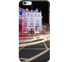 London Light trails  iPhone Case/Skin
