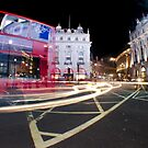 London Light trails  by Sarah Horsman
