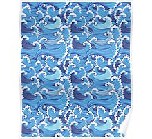 Marine graphic pattern  Poster