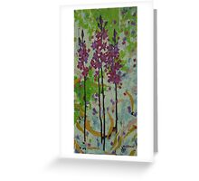 Hyacinth Orchid Greeting Card