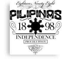 PILIPINAS Canvas Print