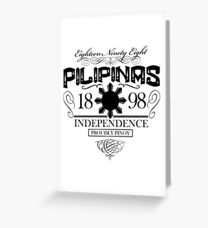 PILIPINAS Greeting Card