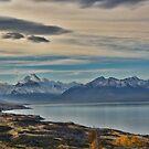 Blue LAKE NZ by julie anne  grattan