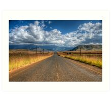 A Road Somewhere Art Print
