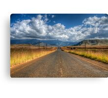A Road Somewhere Canvas Print