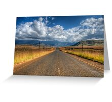 A Road Somewhere Greeting Card