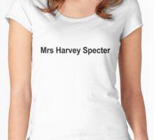 Mrs Harvey Specter. Women's Fitted Scoop T-Shirt