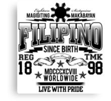 FILIPINO Canvas Print