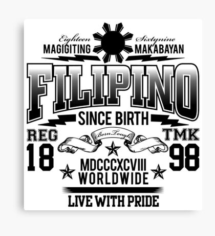FILIPINO Canvas Print