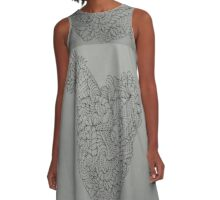Ruffled Feathers A-Line Dress