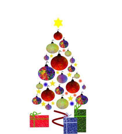 Beauty Of Christmas Sticker