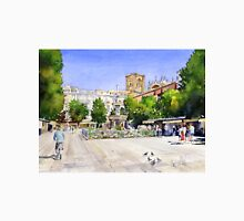 The Square in Summer - Plaza Bib Rambla, Granada, Spain Unisex T-Shirt