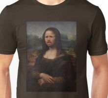 The Moaning Lisa (Karl Pilkington) Unisex T-Shirt