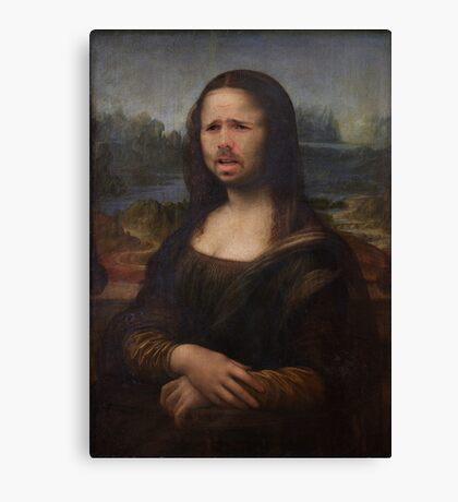 The Moaning Lisa (Karl Pilkington) Canvas Print