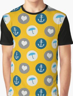 Maritime Pattern Graphic T-Shirt