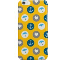 Maritime Pattern iPhone Case/Skin