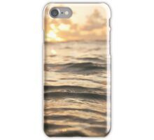 Happiness comes in Salty Water iPhone Case/Skin