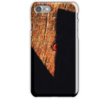Shadow Scissors iPhone Case/Skin