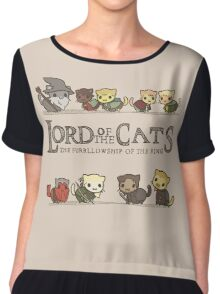 Lord Of The Cats Chiffon Top