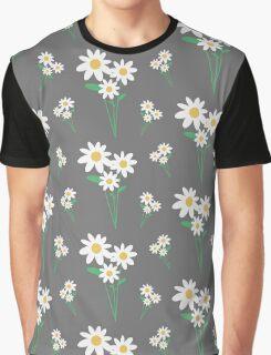 White flowers   Graphic T-Shirt