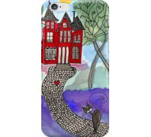 Coming back home iPhone Case/Skin