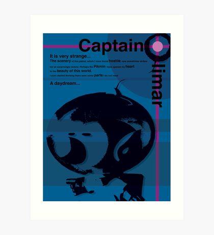 Captains Log Art Print