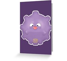 Cute Koffing - Pokemon Greeting Card