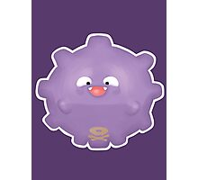 Cute Koffing - Pokemon Photographic Print