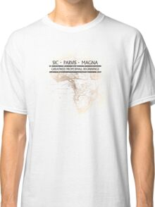 Uncharted - SIC PARVIS MAGNA Classic T-Shirt