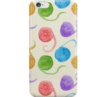 Knitter's Paradise Pattern iPhone Case/Skin