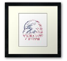 American Patriotic Dots Eagle Flag iPod / iPhone 4  / iPhone 5  Case / Samsung Galaxy Cases/ Pillow / Tote Bag / Duvet / Prints  Framed Print