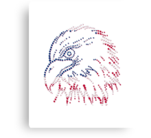 American Patriotic Dots Eagle Flag iPod / iPhone 4  / iPhone 5  Case / Samsung Galaxy Cases/ Pillow / Tote Bag / Duvet / Prints  Canvas Print