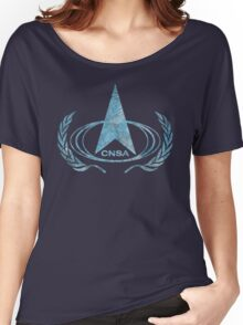 CNSA Vintage Emblem Women's Relaxed Fit T-Shirt