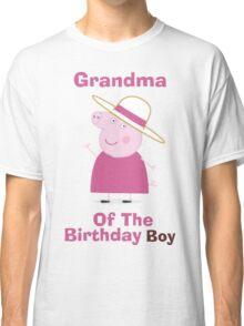 Grandma (HBD) boy Classic T-Shirt