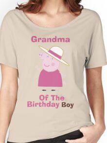Grandma (HBD) boy Women's Relaxed Fit T-Shirt
