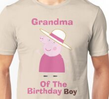 Grandma (HBD) boy Unisex T-Shirt