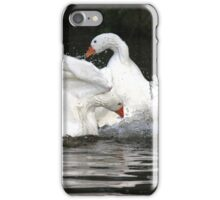 Goose fight iPhone Case/Skin