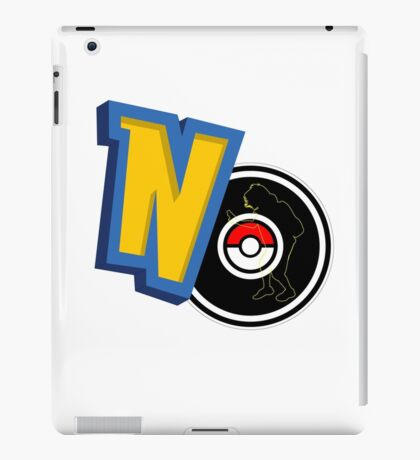 NO Pokemon iPad Case/Skin