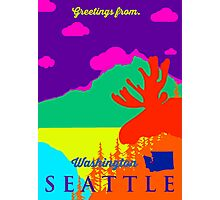 Seattle. Photographic Print