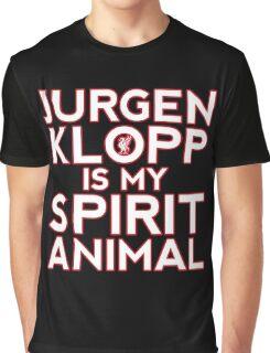 Jurgen Klopp Is My Spirit Animal Graphic T-Shirt