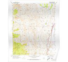 USGS TOPO Map Arizona AZ Bumble Bee 310651 1969 24000 Poster
