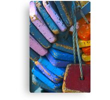 Colorful Floating Cork Canvas Print