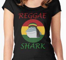 Reggae Shark Dreadlock Women's Fitted Scoop T-Shirt