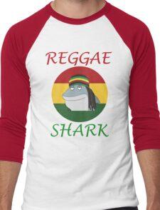 Reggae Shark Dreadlock Men's Baseball ¾ T-Shirt