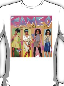 Funky 1980's Cameo vinyl Artwork T-Shirt